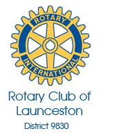 Rotary Club of Launceston Logo